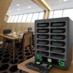 Зарядка для ресторанов на 12 устройств Black Jack вид 1