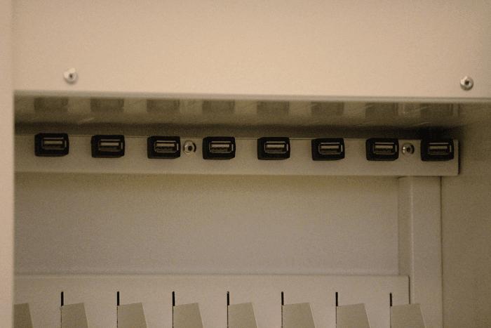 полка тележки для планшетов School Charger USB w20 Tabs