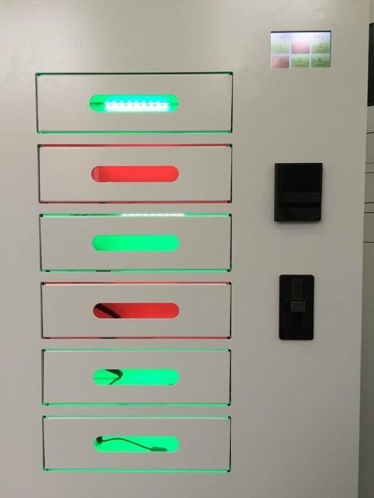 автомат для зарядки телефонов Maxi (вид 1)