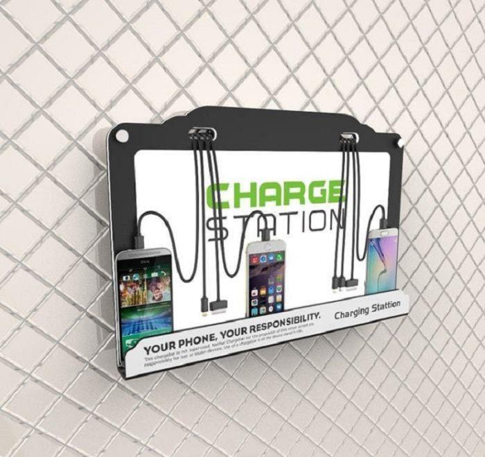 Настенная зарядная станция Street LED (вид 2)