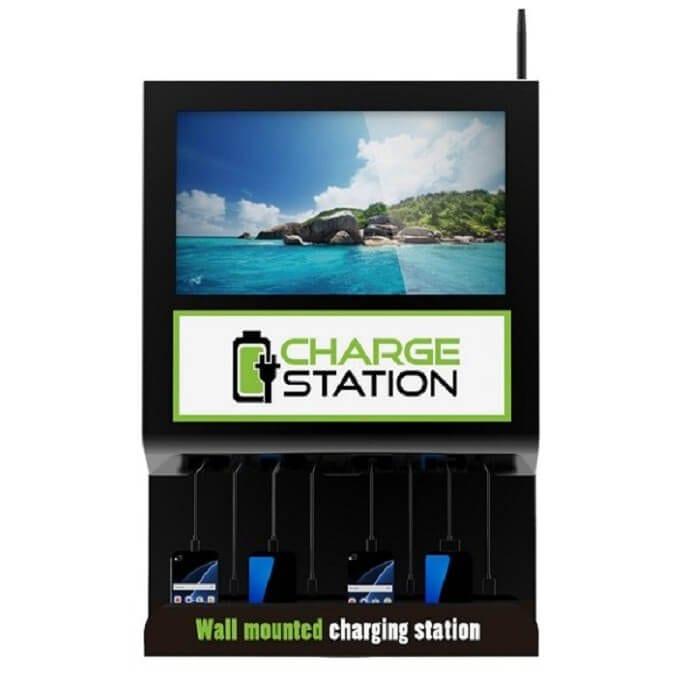 Настенная зарядная станция с экраном Cameron 2.0 (вид 1)
