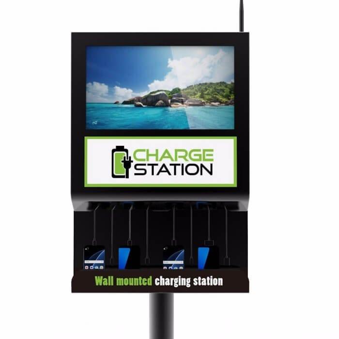 Настенная зарядная станция с экраном Cameron 2.0 (вид 2)