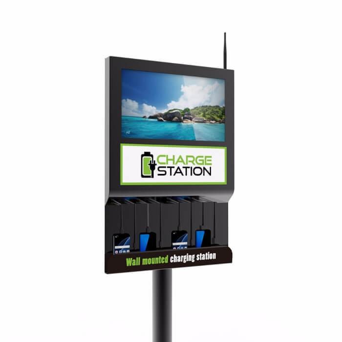 Настенная зарядная станция с экраном Cameron 2.0 (вид 3)