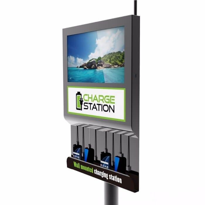 Настенная зарядная станция с экраном Cameron 2.0 (вид 4)