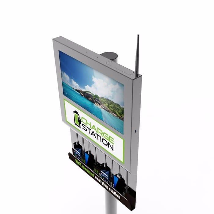 Настенная зарядная станция с экраном Cameron 2.0 (вид 5)