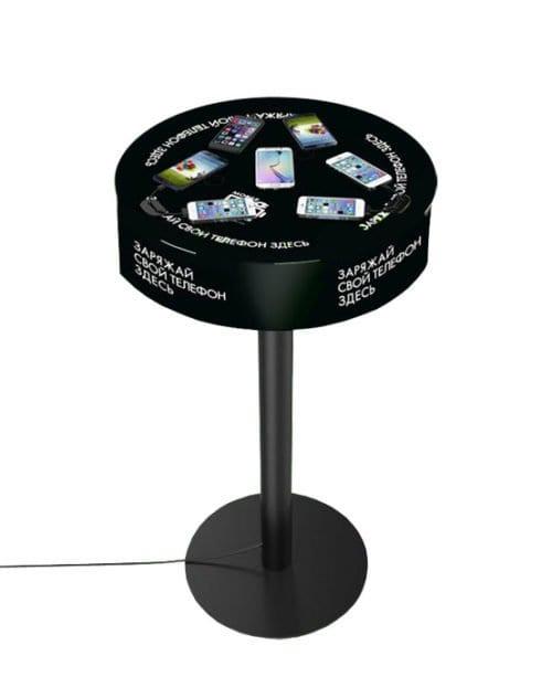 Зарядная станция стол Soho для беспроводной Qi зарядки телефонов