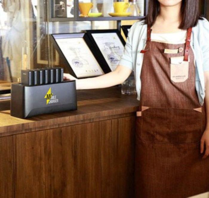 Зарядная станция для кафе и ресторанов портативная Hype